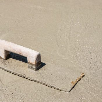 Concrete trowel used by Complete Concreters Sunshine Coast during a project in Woombye